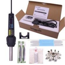 Pistolet à Air chaud électronique 650W, LCD réglable, Station de soudure IC SMD BGA + buse 8858 650W, PG8018LCD