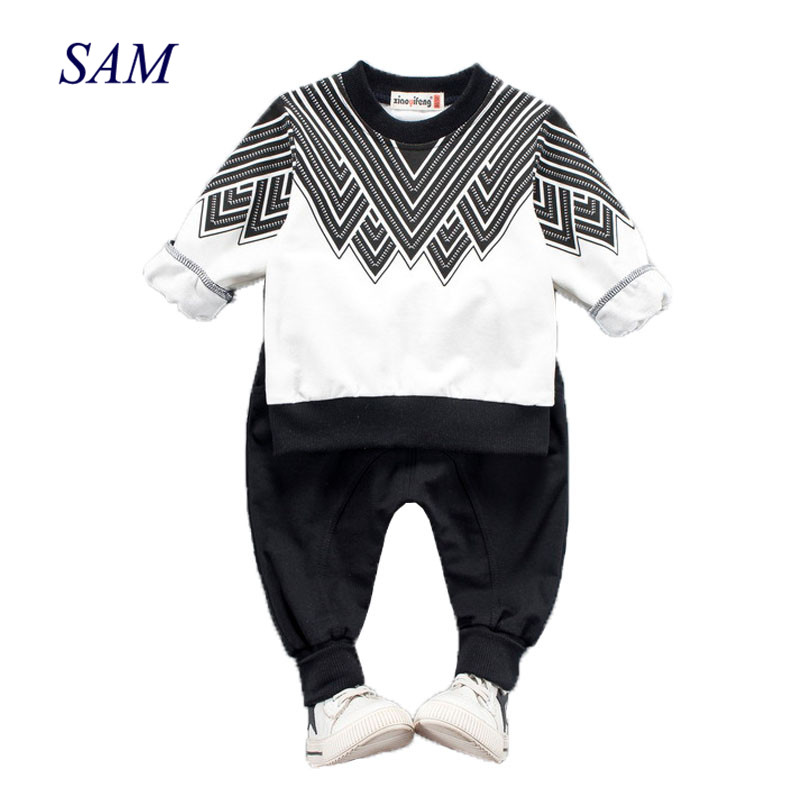 Baby Boys Girl Clothes Sets 2018 Fashion Costume For Boy Casual Kids Sport  Suits Tracksuit For Boys Hooded Coat 6M-4 Year-Leather bag