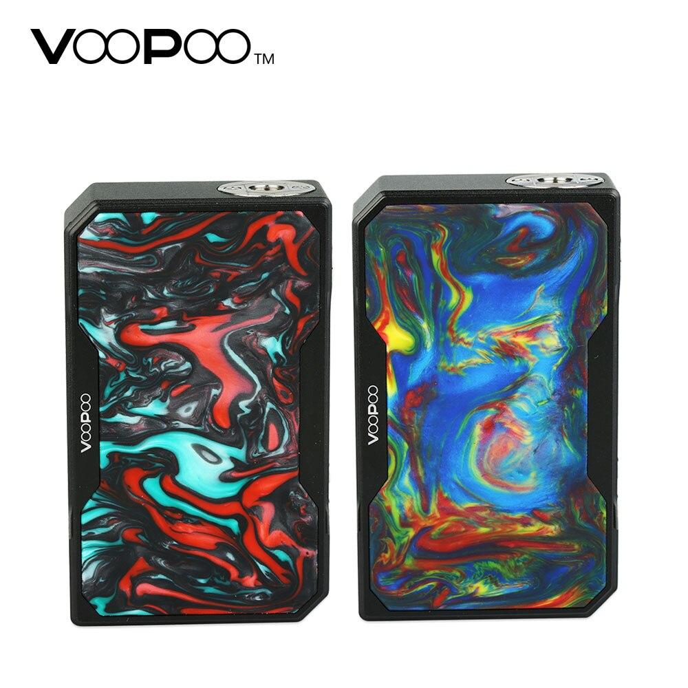 157 W Original VOOPOO noir glisser résine TC boîte MOD 1-40A courant de travail No 18650 batterie E-cigarette TC boîte Mod Vs VOOPOO glisser