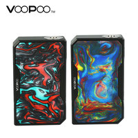157W Original VOOPOO Black Drag Resin TC Box MOD 1 40A Working Current No 18650 Battery E cigarette TC Box Mod Vs VOOPOO Drag