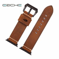 EACHE 42mm Replacement Watch Straps Fit For Apple Watch Genuine Leather Watch Band For Iwatch Women