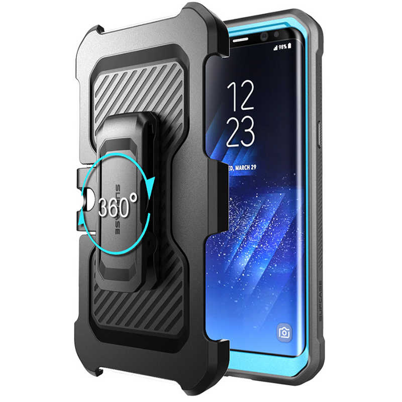 sports shoes 8f490 9e857 For Samsung Galaxy S8 Plus Case SUPCASE UB Pro Full-Body Rugged Holster  Cover WITHOUT Built-in Screen Protector For Galaxy S8+