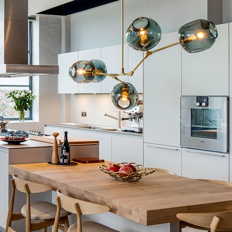 GUXEN lámpara Led AC110V 220 V modernas luces decorativas ...