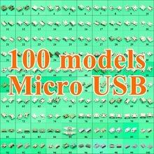100 modelle Micro USB Stecker Mini Jack Buchse Power Lade Port Ersatz 5 Pin 5pin Schwanz Für Samsung Huawei Lenovo ZTE HTC