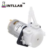 Pompa perystaltyczna 12V DC DIY płynna dozująca pompa do akwarium laboratorium analityczne tanie tanio Elektryczne Pompa zębata none Standardowy Pomiaru Wody Niskie ciśnienie