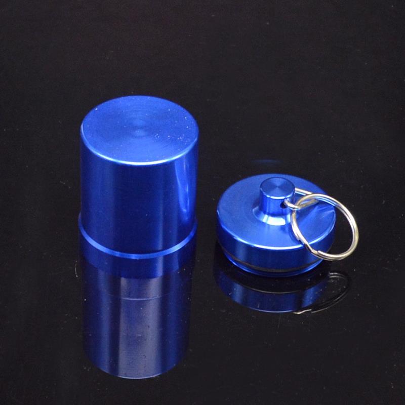 10 قطعة/الوحدة الألومنيوم للماء مفتاح سلسلة صندوق تخزين خفية سر حبة مربع خبأ ل مطبخ التخزين المنظم الشاي الأنابيب التبغ-في صناديق وعلب تخزين من المنزل والحديقة على  مجموعة 3