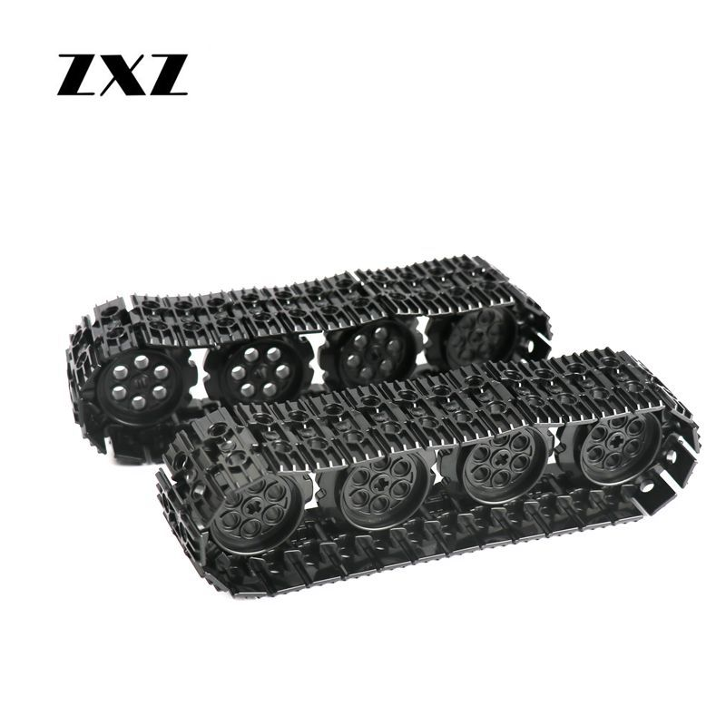 Technic Caterpillar Tracks MOC Building Blocks Excavator Tank Wheel Accessory Bricks Toy DIY Technic Parts 57519 88323|Blocks| - AliExpress
