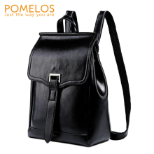 POMELOS Backpack Women New Arrival Split Leather For Luxury Fashion Rucksack Travel Street