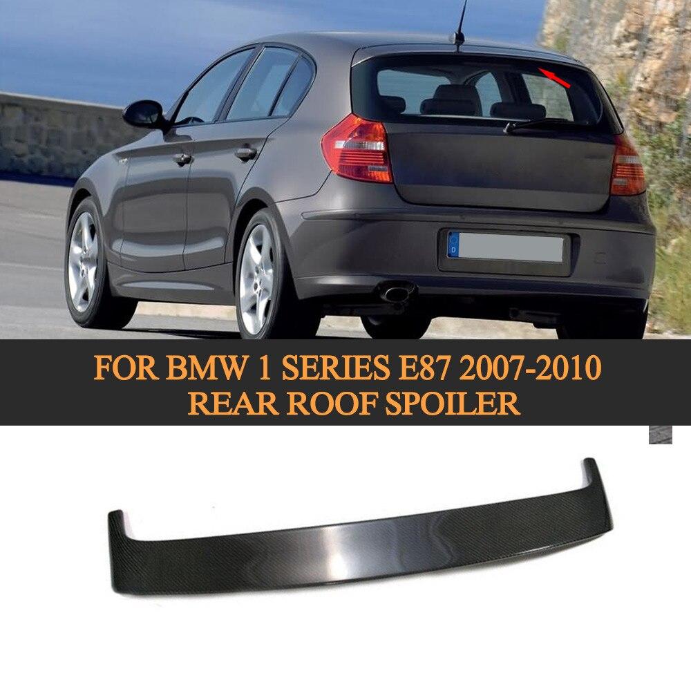 Carbon Fiber Auto Car Roof Wing Spoiler For BMW 1 Series E87 2007 2008 2009 2010