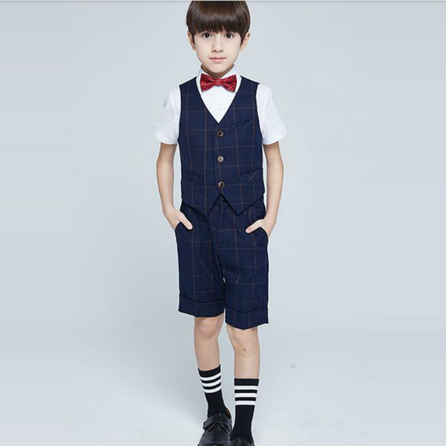 Bonne qualité Bébé garçon Messieurs dress costume 2a6b2e79855