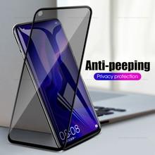 Антишпионское закаленное стекло для Huawei P30 P20 Pro Mate 20 10 Lite, Защита экрана для конфиденциальности для Huawei Honor 10 8X Nova 4 4e Y9 2019