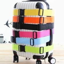 Тележка чемодан камера с поперечным Ремешком пояса Упаковка Пряжка ремень регулируемой багажной ленты женщины мужчины Дорожная сумка аксессуары