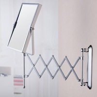 Bathroom Wall Mirror Square Folding Mirror Fashion Simple Durable Home Furnishing Counter Mirror Size 150 M