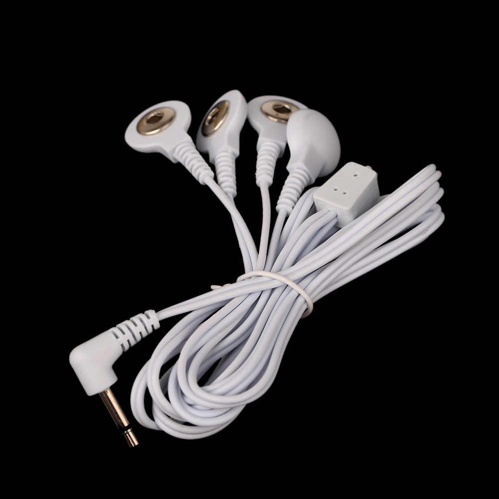 DC 2.5 ミリメートル 4 で 1 ヘッド電極線/ケーブルのためのデジタル治療マシン、数十機、痩身マッサージ