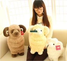 Dorimytrader 24'' / 60cm Super Soft Lovely Stuffed Cute Plush Giant Animal Goat Sheep Toy, 3 Colors, Free Shipping DY60614