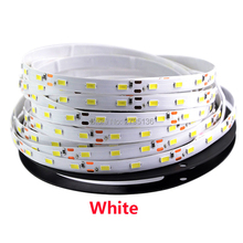 5M LED Strip Flexible DC12V 60 LED/m High Brightness 5630 SMD lamp Tape Non-waterproof For indoor home decoration light