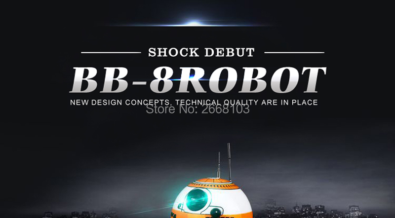 Upgrade Model Ball Star Wars RC BB-8 Droid Robot BB8 Intelligent Robot 2.4G Remote Control Toys For Girl Gifts With Sound Action 14