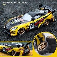 להיסחף מירוץ RC רכב GTR דגם 4WD 2.4G מכביש Rockster שלט רחוק רכב אלקטרוני תחביב צעצועים