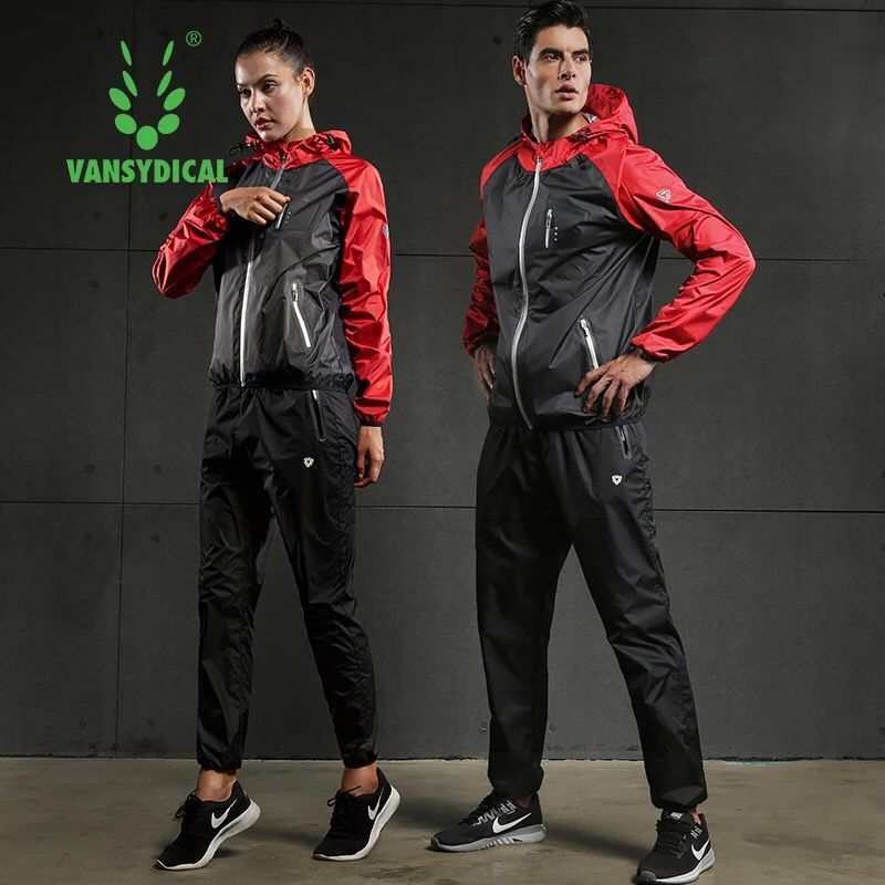 Hot Sweat Running Sets Women Men Gym Clothing Fitness Workout Training Jogging Suits Sportswear 2 PCS Sport Tracksuit Plus Size men hot sweat running sets tracksuit fitness hoodies pants yoga sets sportswear cycling sets training jogging gym sport suit