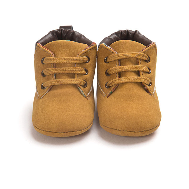 PU Leather First Walker Baby Shoes