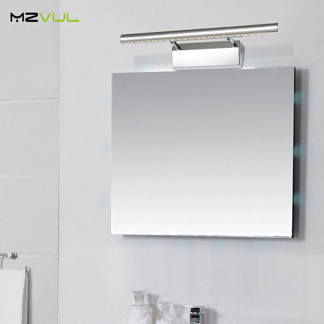 3W 5W 7W Bathroom LED Mirror Light AC220V SMD5050 Mini Style Cool White LED modern Wall Lamps lampada de led wholesale
