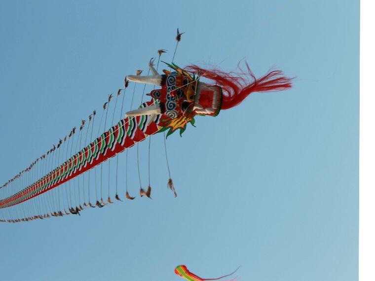 Livraison gratuite haute qualité 7M Chinses dragon traditionnel cerf-volant chinois cerf-volant design décoration cerf-volant wei cerf-volant usine weifang jouets - 3
