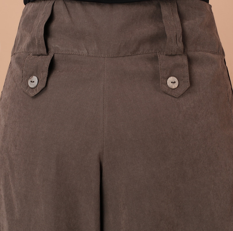 4b64f00039 1Pcs Women Pants Falda Pantalon 2019 New Brand Design Wide Leg Pants S 8XL  Larger Size Thin Women Trousers Cotton-in Pants   Capris from Women s  Clothing on ...