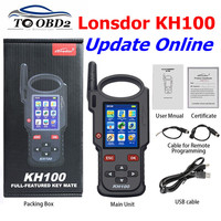 Original Lonsdor KH100 Remote Maker Key Programmer Generate Chip/Simulate Chip/Identify Copy/Remote Frequency/Access control key