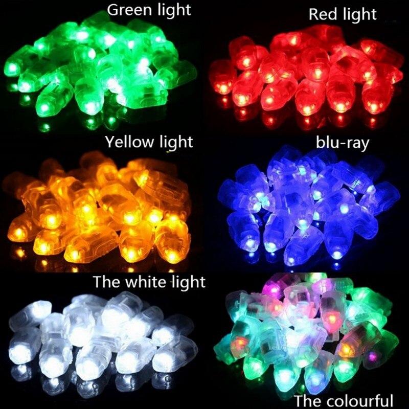 10pcs Glitter Balloon Light Bullet Head Turn Off Lights Bar Dance Wedding Decoration Glitter Led Lights Light
