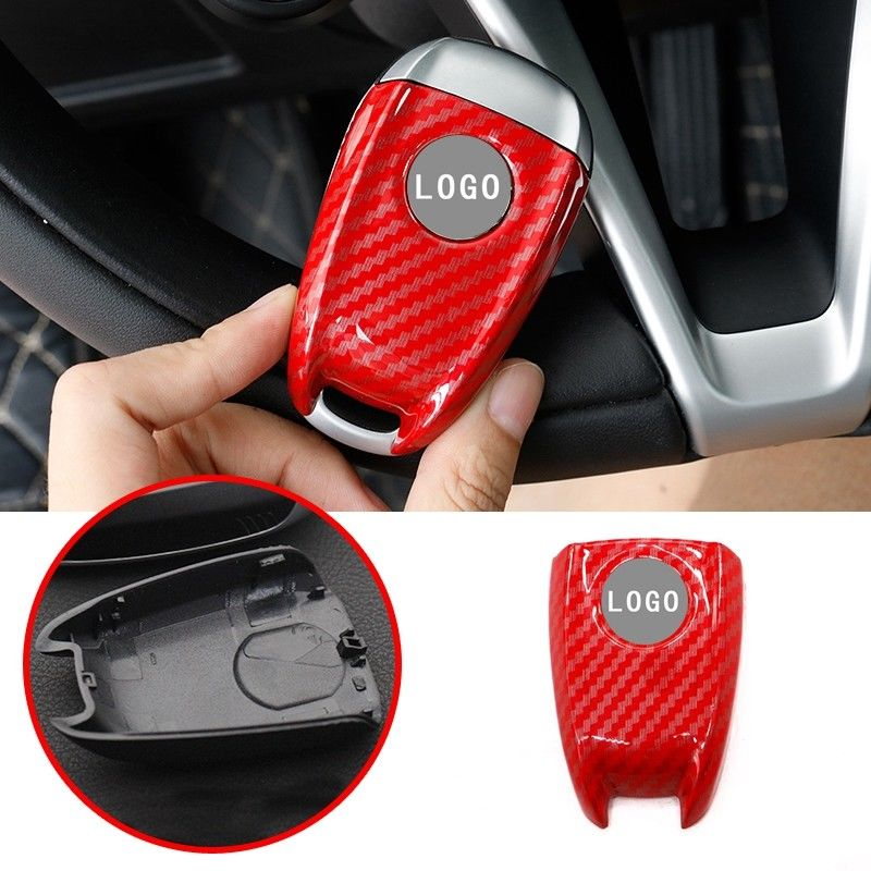 Carbon Red ABS Key FOB Remote Cover Case For Alfa Romeo