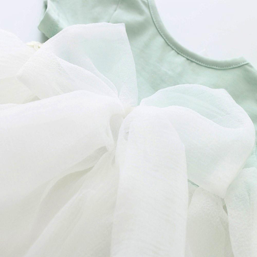 HE Hello Enjoy Baby Girl Dress 1 year birthday dress lace infant baptism vestido infantil bowknot princess wedding dress 6