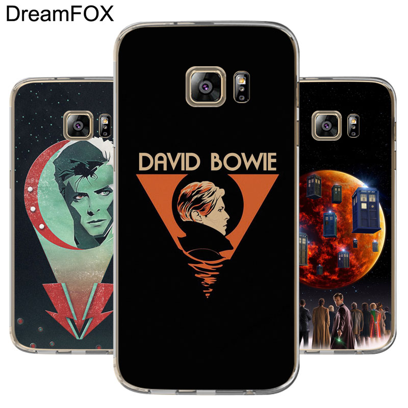 Cellphones & Telecommunications Efficient Dreamfox M450 Bowie Doctor Soft Tpu Silicone Case Cover For Samsung Galaxy Note S 5 6 7 8 9 10 10e Lite Edge Plus Grand Prime