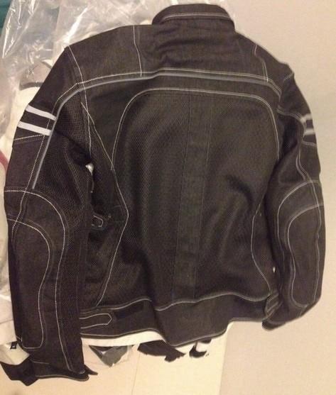 JK-006 Vintage Denim Mesh Jacket a2