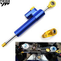 Motorcycle Stabilizer Damper Complete Steering Mounting Bracket For YAMAHA YZF R6 1999 2004 YZF R1 2002 2003 FZ1 FAZER 2001 2005