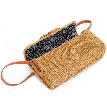 Handmade Rattan Bag for Summer 1