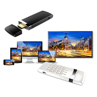 New Car Auto Screen Shared Device 5G Wireless/Wired 2 Way Push HDMI WiFi Miracast Air Play Dongle GPS Navigator