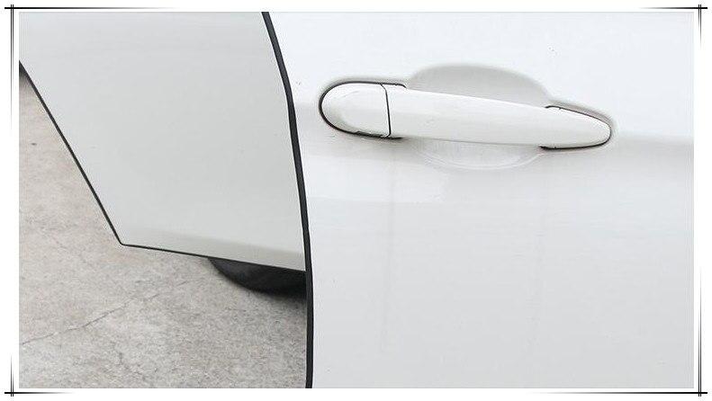 5 м автомобильный Стайлинг автомобиля Защита края двери полосы литья наклейки для volvo s60 saat skoda octavia a7 subaru, автомобильные аксессуары, брелок дл...