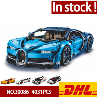 In Stock DHL Lepin 20086 20001 20001B 23006 20087 Technic Series Car Model Building Blocks Bricks Compatible 42083 Gifts Toys