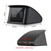 Car GPS HUD Head Up Display Smart Digital Meter GPS Speedometer Car HUD Display GPS Satellites Speed Work for All Cars