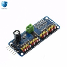 1pcs 16-Channel 12-bit PWM/Servo Driver - I2C interface - PCA9685 for Arduino Raspberry Pi DIY Servo Shield Module