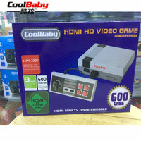 CoolBaby HDMI/AV output RS 38 RS 39 Built In 600 Games Mini TV Family Game Console 8 Bit Retro Video Classic Game Console