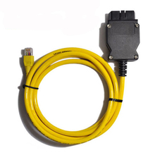 2015 ESYS 3.23.4 V50.3 Data Cable For bmw ENET Ethernet to OBD OBDII 2 Interface  E-SYS ICOM Coding for F-serie Free Ship