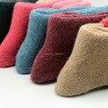 5 pares, das mulheres meias grossas para o outono & inverno, espessamento quente meias de lã de coelho, meias térmicas, doce sólidos sock para as mulheres (ztw31)