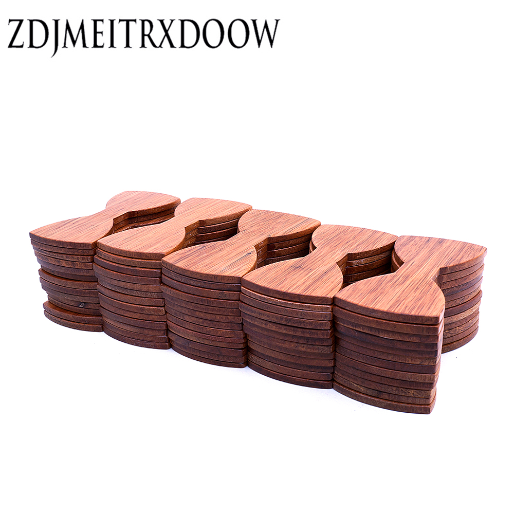 Semi-manufacture 1 Set 100 PCS Splicing Wooden Bow Tie Adults Size 12cm*5.5cm