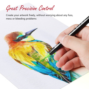 Image 3 - Arrtx 24/48 Colors True Brush Marker Pens Professional Water Based Markers Washable & Nontoxic Flexible Brush Tips for Painting