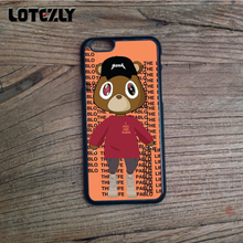 Kanye West Dropout Bear 3 Soft Edge Mobile Phone Case for iPhone 4s 5c 5s  5se a2b4334c4082