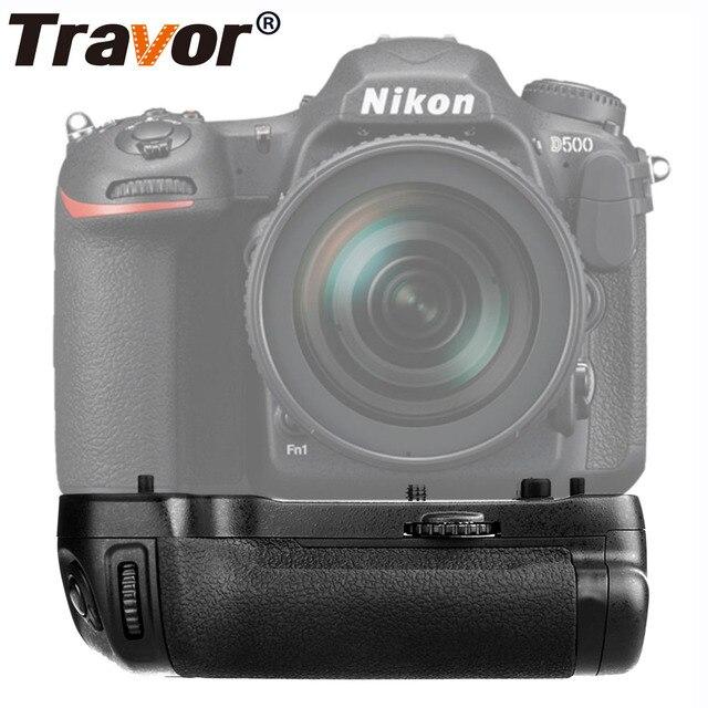 Travor Professional Battery Grip for Nikon D500 DSLR Camera as MB D17 MBD17