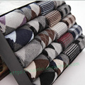 2016 New 5 pairs of men's winter  wool socks thick warmin tube socks official formal affordable cheap Sweat no gift box