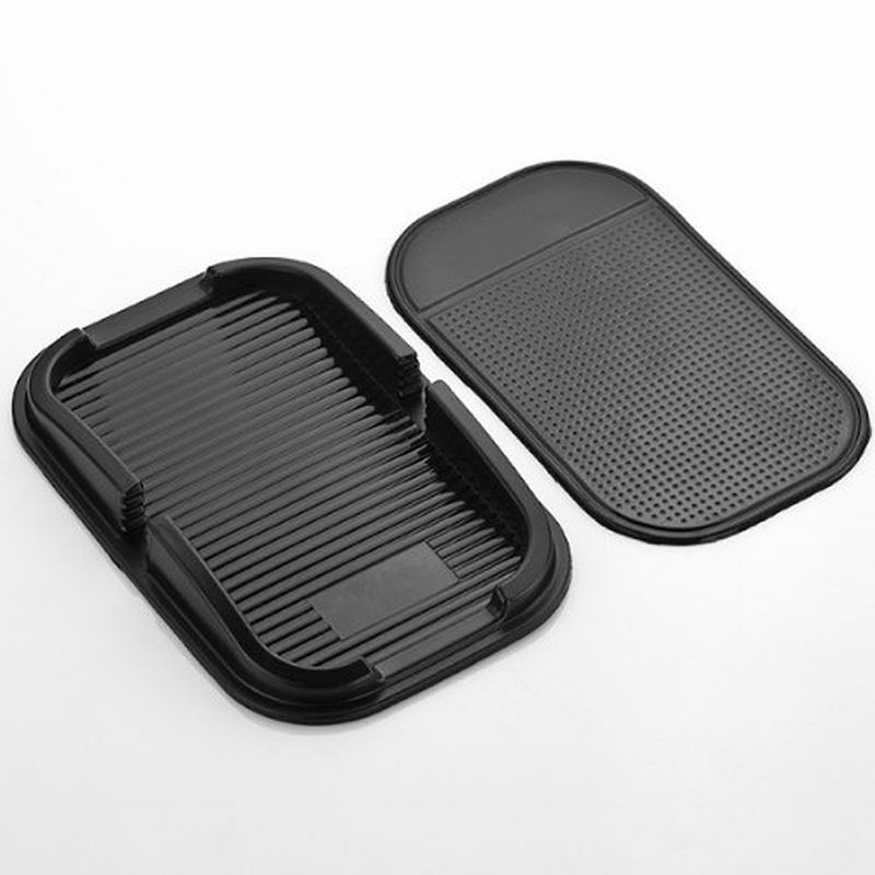 rubber proof anti skid sticky pad dash non slip auto car dashboard interior mat holder for gps. Black Bedroom Furniture Sets. Home Design Ideas