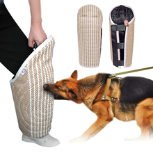 Manchons pour chien, morsure, jouets dentraînement K9, produit dentraînement pour chien et animal de compagnie, Protection des pattes pour le travail des chiots, berger allemand